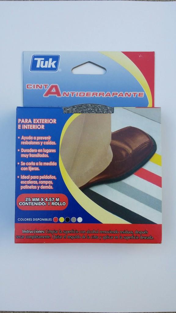 cinta antiderrapante 2. 1:2 cm x 4.57 m