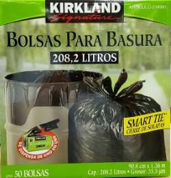 CAJA DE BOLSA DE 55 GL C / 50 AGARRADERA CON