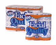 PAPEL FACIAL QUALITY C/80 ROLLOS