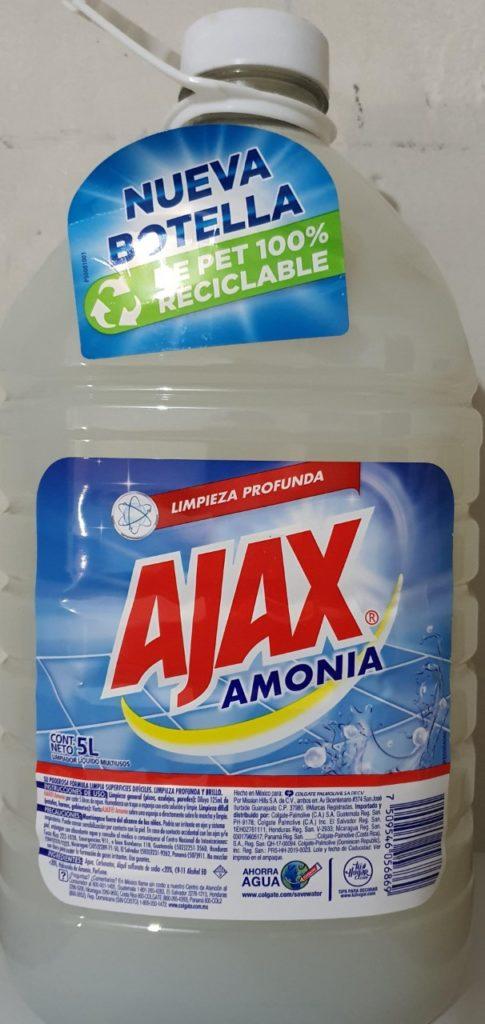 ajax amonia 5lts
