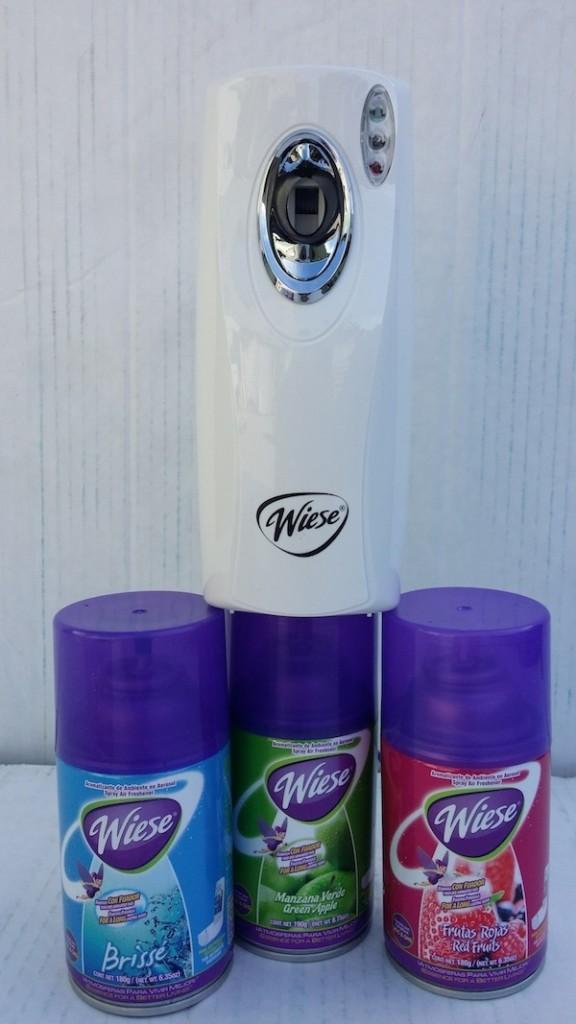 despcahdor de aroma de Control y aroma