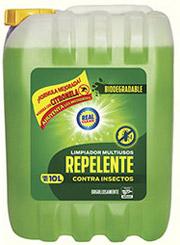 limpiador multi uso y repelente de mosquitos