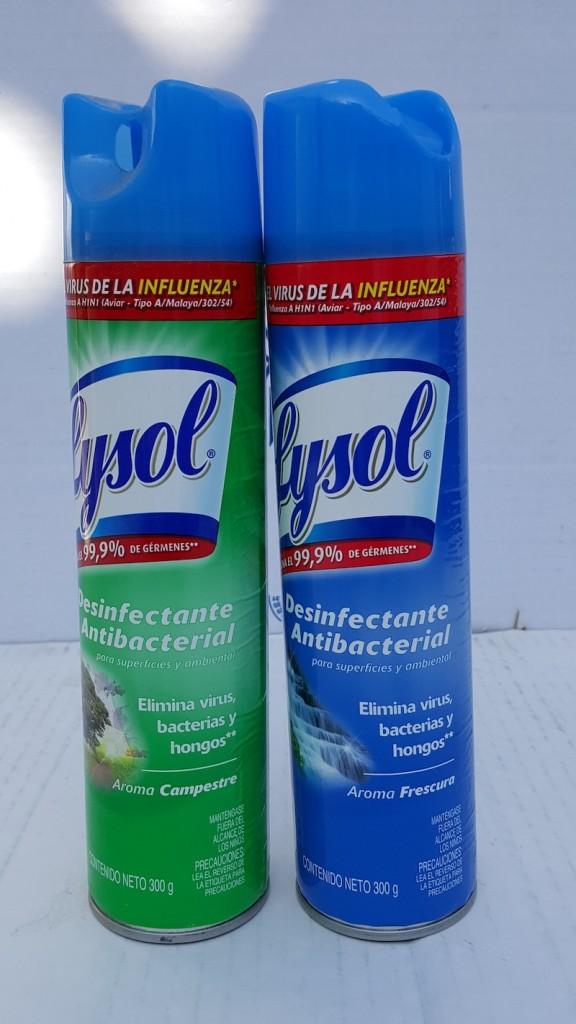 desinfectante con aroma