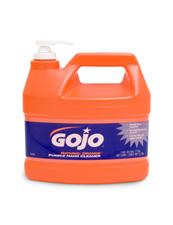 gojo desengrasante en seco con polimeros orena para limpieza profunda de las manos y aroma naranja