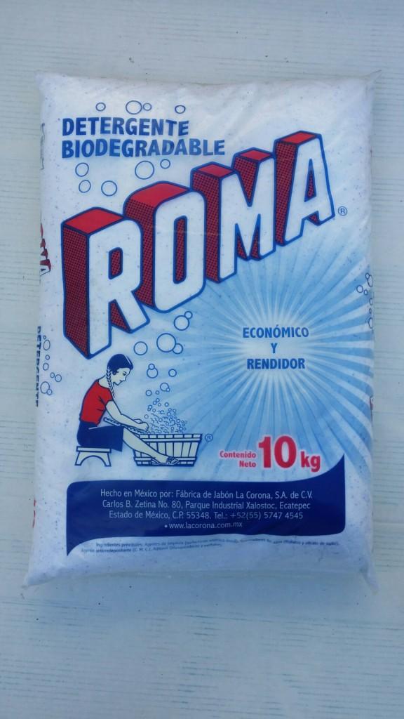 bolsa jabon roma polvo10 kg