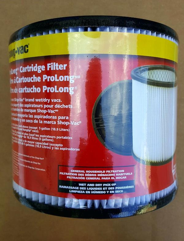 filtro-aspiradora Shop-Vac