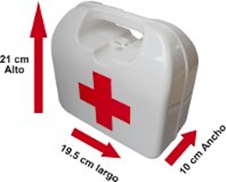 botiquin medidas con medicamentos
